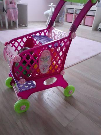 Wózek sklepowy koszyk na zakupy