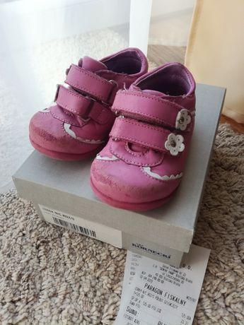 Buty dziecięce skórzane Kornecki 19, pierwsze buciki