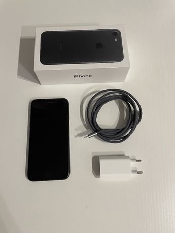 iPhone 7 32gb czarny stan bdb