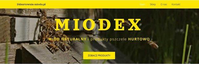 Miód pszczeli ,beczki i wiadra- HURT