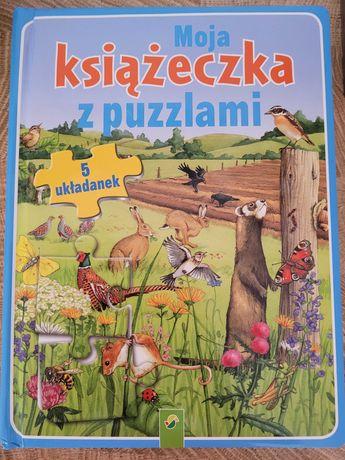 Puzzle książeczka dla dzieci