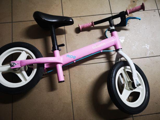 Rowerek biegowy dziewczynka