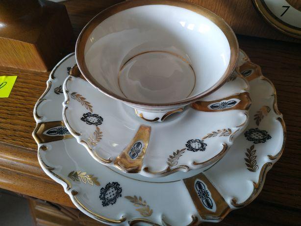 Zestaw porcelany do kawy Paul Müller lata 20