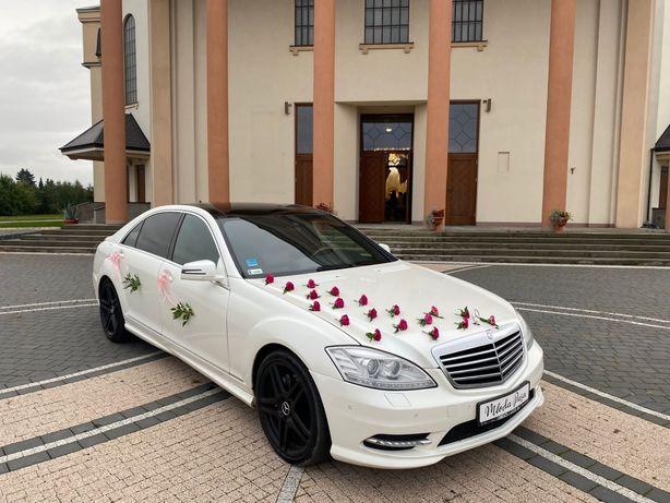 Samochód do Ślubu, Auto na wesele Mercedes S Long