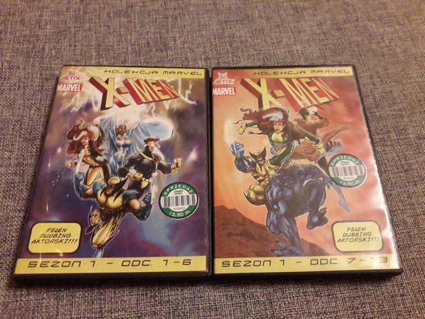 X-men  2dvd sezon 1 Marvel odc.1-13