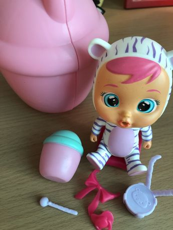 Кукла плакса. Cry babies mini. Плачущий малыш