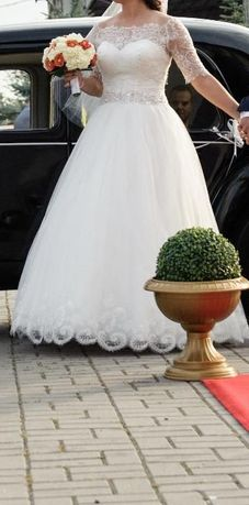 Suknia Ślubna Vanessa 1519 + dodatki