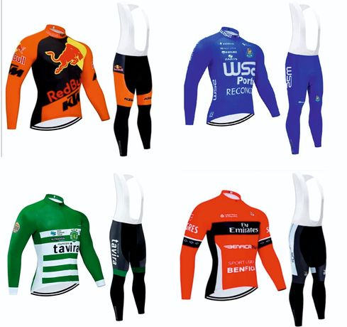 Equipamentos de Ciclismo INVERNO / MANGA COMPRIDA