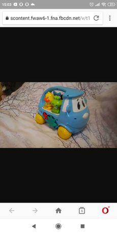 Interaktywny samochód, zabawka
