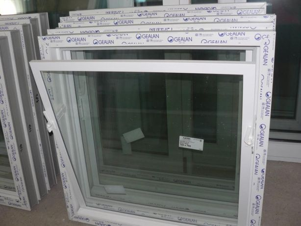 Inwentarskie okna UCHYLNE okno PCV 6-komorowe- wysoka JAKOŚĆ