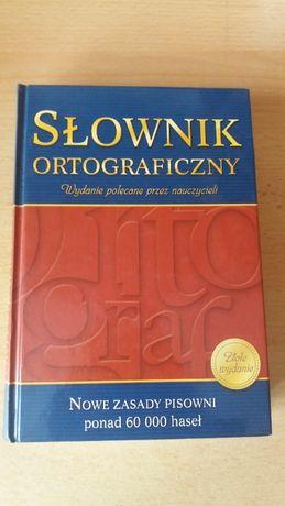 Słownik ortograficzny. Wydanie polecane przez nauczycieli.