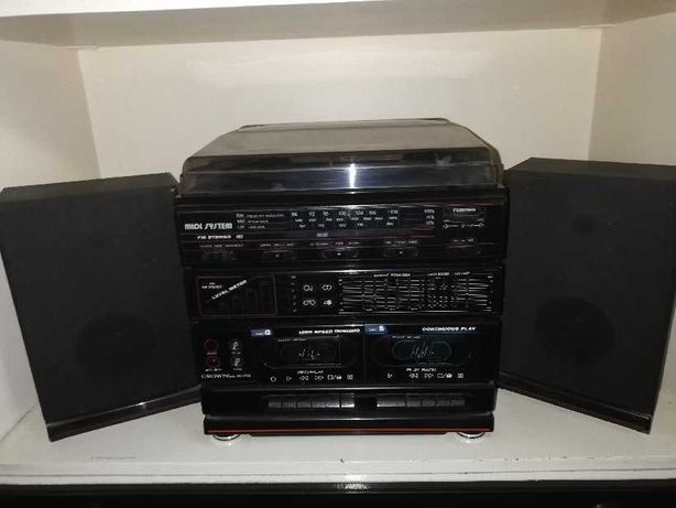 Wieża stereo - około 20 letnia