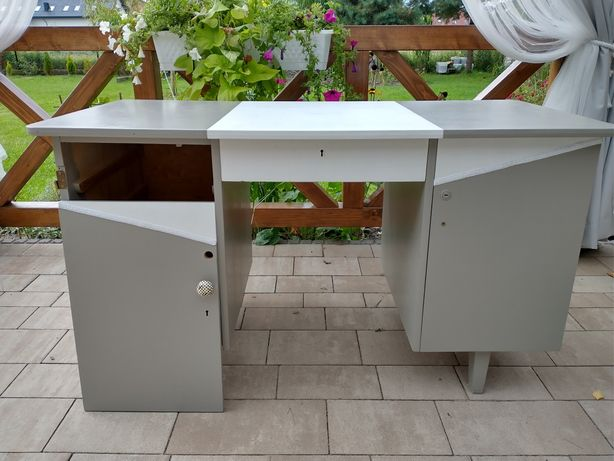 Biurko drewniane 135x65