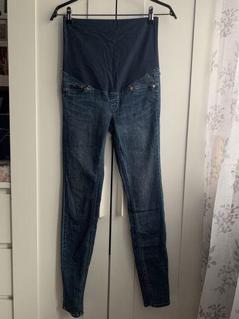 Spodnie jeansy ciążowe h&m mama 36 (S)