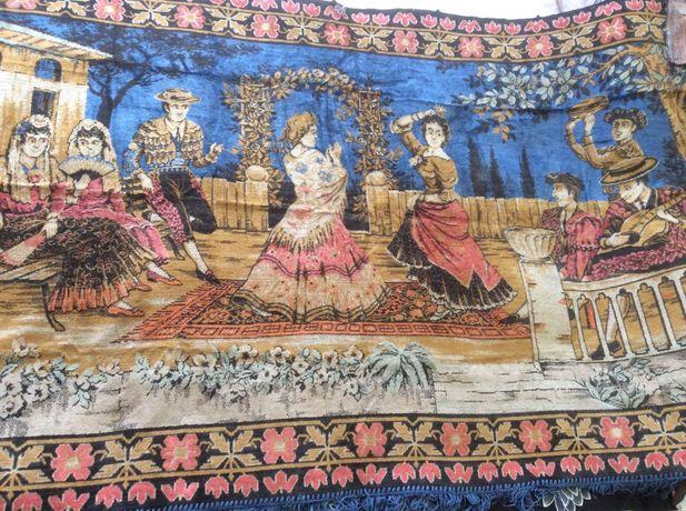 Винтажный коврик « Испанский танец»