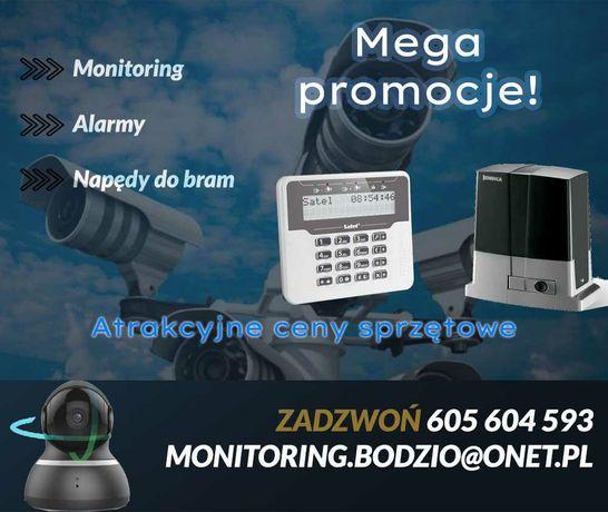 Monitoring Elektryka Napędy bram Alarmy promocje