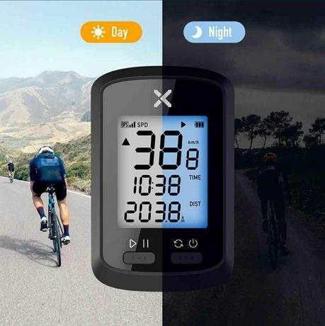 GPS Велокомпьютер XOSS G. Поддержка Strava.