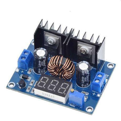 Понижающий стабилизатор XL4016 8 А с вольтметром