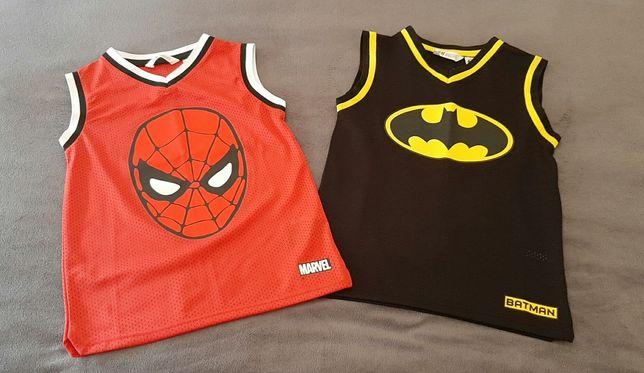 Batman e homem aranha