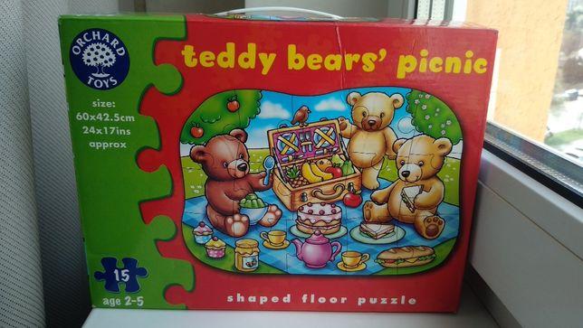Orchard toys крупные большие первые пазлы гиганты Мишки для малышей