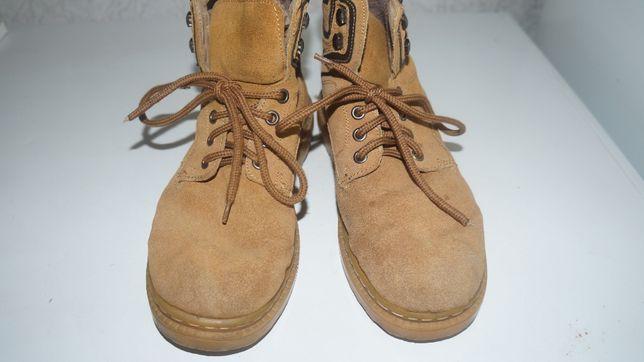 Ботинки для мальчика замшевые зимние 38 р-р