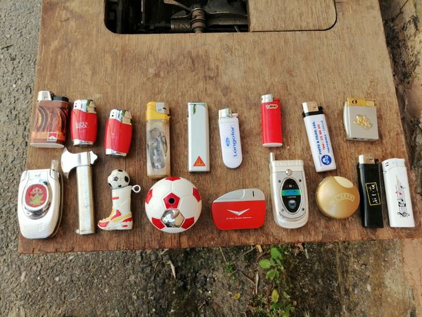 Coleção de isqueiros