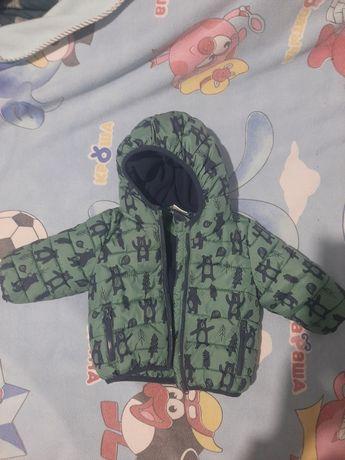 Курточка на осень-весну 3-6 месяцев