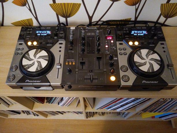 2 x Pioneer cdj400 + djm400