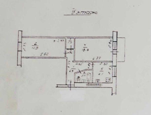 ЛФ-6-1849 2х комнатная квартира на 7й ст. Б. Фонтана.