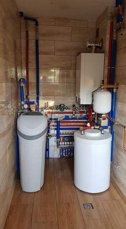 Usługi hydrauliczne, kolektory słoneczne - montaż i serwis. Hydraulik
