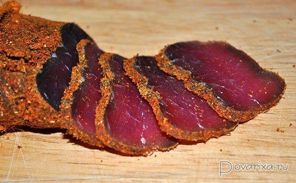 Бастурма домашня/яловичина
