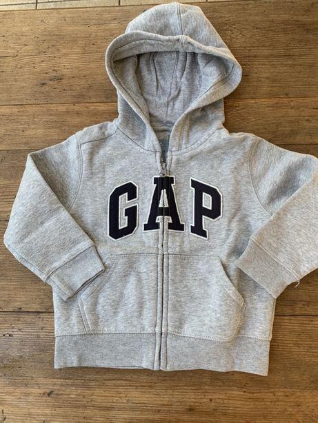 Bluza z kapturem marki GAP. Rozmiar 98 cm (3 lata)
