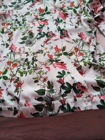 Mohito koszula w liscie i kwiaty