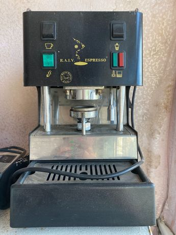 Кофемашина в рабочем состоянии