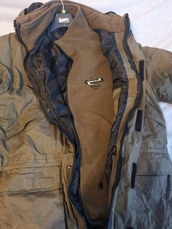 Kurtka i spodnie wędkarskie rozmiar XL