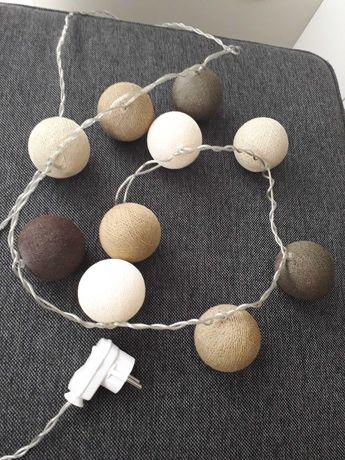 Cotton balls z przewodem zasilajacym