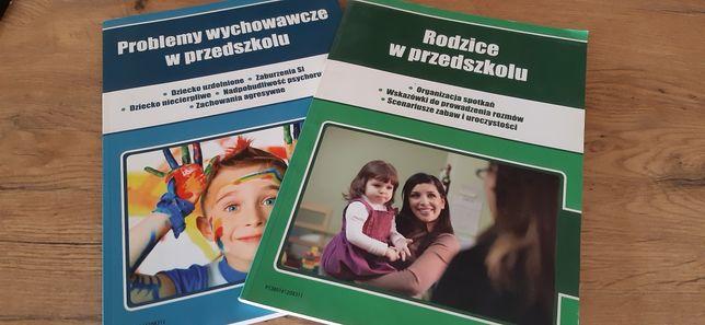 2 książki rodzice  i problemy wychowawcze w przedszkolu