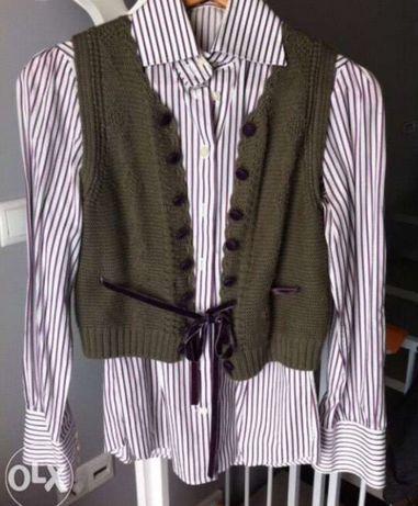 camisa Sacoor e colete Lanidor portes grátis