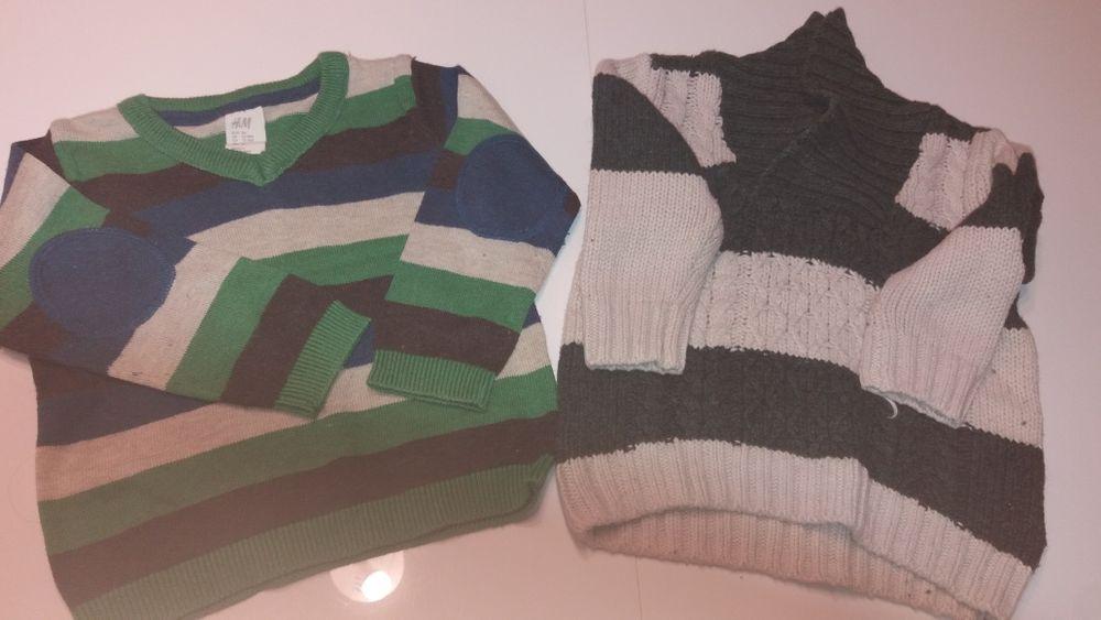 Sweterki z H&M rozmiar 86 i 74 Szczecin - image 1
