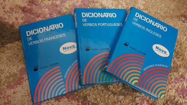 Dicionários de Verbos - 5€