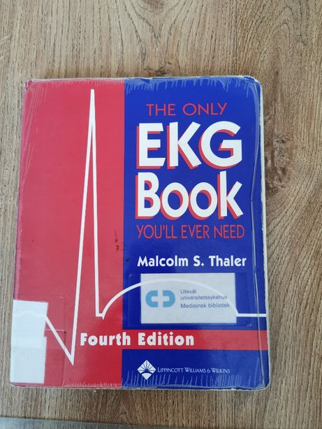 Ekg book Malcolm S. Thaler