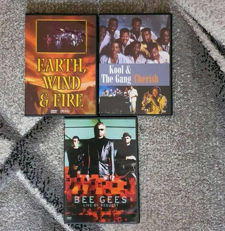 Koncerty DVD Bee Gees Earth Wind & Fire Kool The Gang
