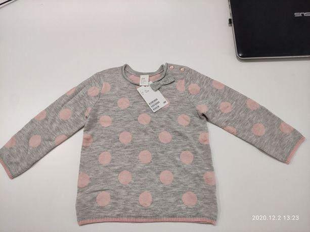 Sweterek h&m 92 Nowy