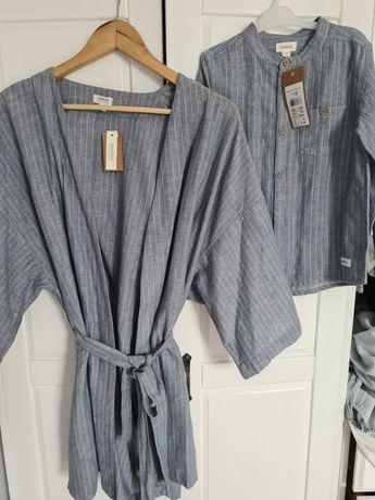 Kimono s/xs koszula 116 newbie