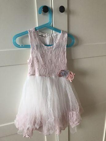 Piekna sukieneczka 92-98.