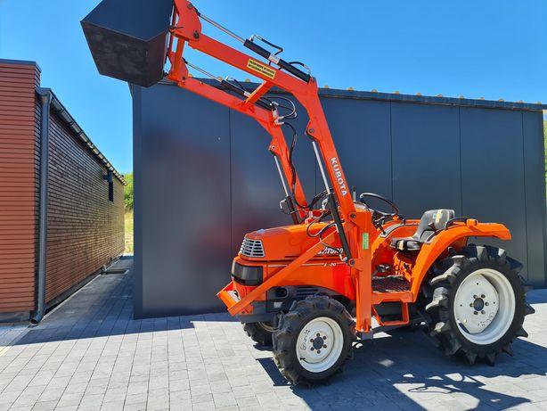 Mini traktor Kubota x20,ładowacz,stan super,ogrodniczy,sadowniczy,