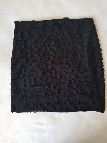 Красивая черная юбочка на подкладке