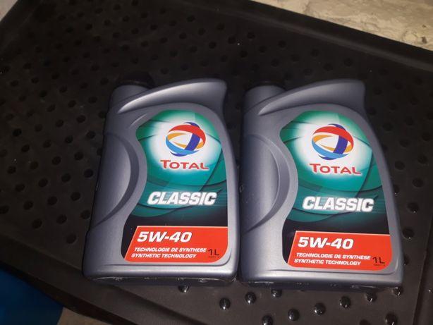Olej syntetyczny 1 litr Total Classic 5w40