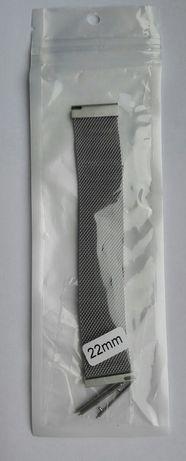 Bracelete smartwatch relógio c/iman 20e22 mm