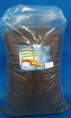 Pokarm dla ryb dobra jakość oczko wodne